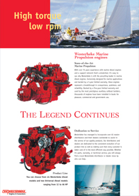 Marine Diesel and Gas Engines by Westerbeke (Click for PDF)